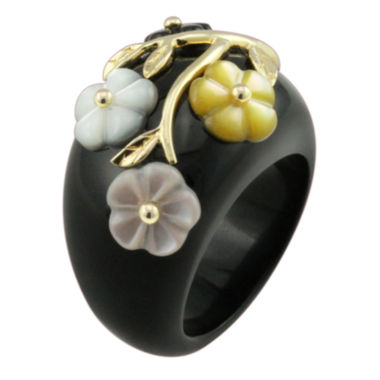 jcpenney.com | Onyx & Mother-of-Pearl Ring