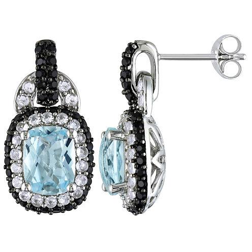 Sterling Silver Sky Blue Topaz Earrings