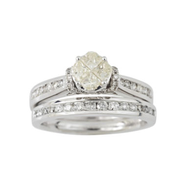 jcpenney.com | Harmony Eternally in Love 1 CT. T.W. Certified Diamond Bridal Set