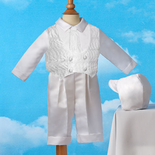 Keepsake® Christening Suit - Boys newborn-12m