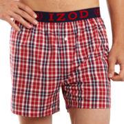 IZOD® Scarlet Boxer Shorts