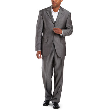 jcpenney.com | Steve Harvey® 3-Button Black Stripe Suit Separates - Big & Tall