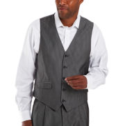 Steve Harvey® 5-Button Striped Suit Vest