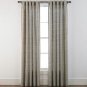 Studio™ Glacier Rod-Pocket/Back-Tab Curtain Panel