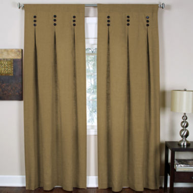 jcpenney.com | Murano Rod-Pocket/Back-Tab Inverted Pleat Curtain Panel