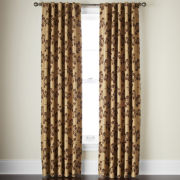 Linden Street™ Arbor Leaf Rod-Pocket Curtain Panel