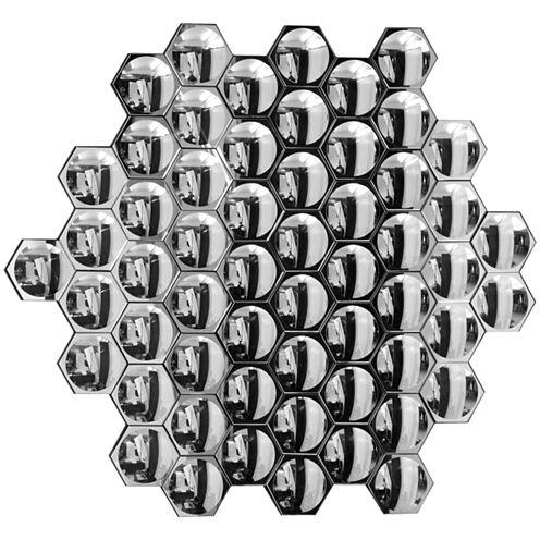 Honeycomb Decorative Wall Mirror