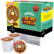 K-Cup® Donut Shop Coconut Mocha Coffee Packs by Coffee People