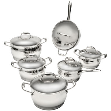 jcpenney.com | BergHOFF® 12-pc. Zeno Stainless Steel Cookware Set