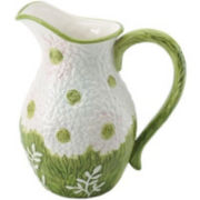 Mikasa Silk Floral China Pitcher