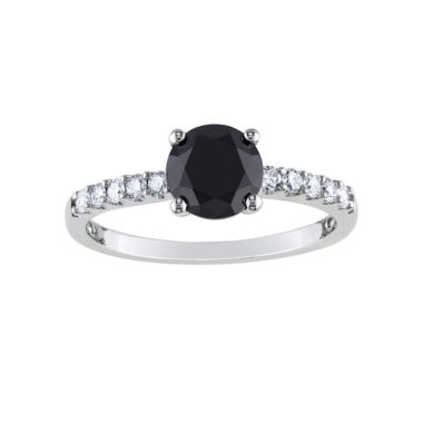 jcpenney.com | Midnight Black Diamond 1 1/4 CT. T.W. White & Color-Enhanced Black Diamond Engagement Ring