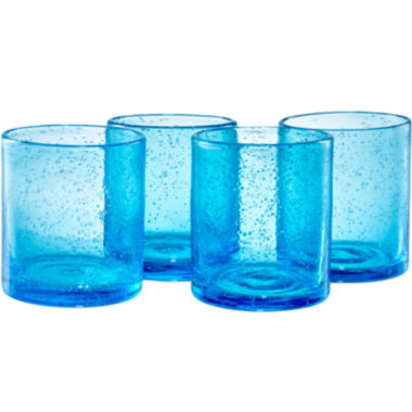 jcpenney.com | Iris Set of 4 Double Old-Fashioned Glasses