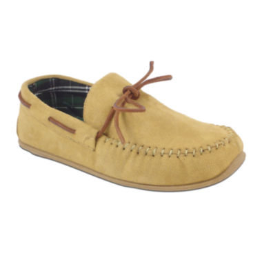 jcpenney.com | Slipperooz by Deer Stags® Fudd Mens Indoor/Outdoor Moccasin Slippers