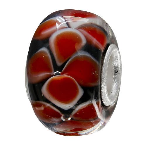 Forever Moments™ Red Petal Charm Bracelet Bead