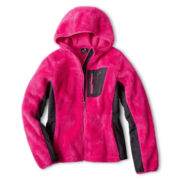 Vertical 9 Hooded Fleece Jacket – Girls 6-16