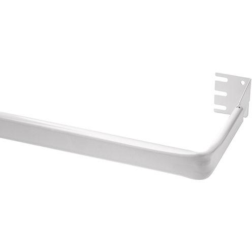 """Bali® 5½"""" Lock-Seam Adjustable Curtain Rod and Extender Bracket Kit"""