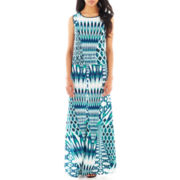 Bisou Bisou® Ikat Crop Top or Maxi Skirt