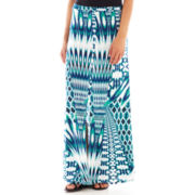 Bisou Bisou® Ikat Maxi Skirt