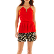 Worthington® Gold-Trim Halter Top or Soft Shorts