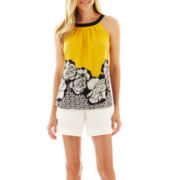 Worthington® Halter Blouse or Sateen Shorts