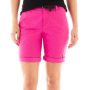 jcp™ Twill Bermuda Shorts