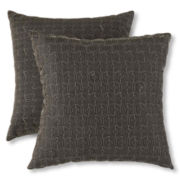 Hexagon 2-pk. Decorative Pillows