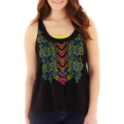 Arizona Flyaway-Back Tank Top - Plus