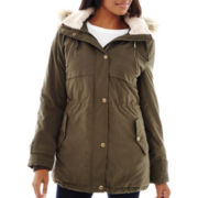 a.n.a® Faux Fur-Trimmed Parka - Tall