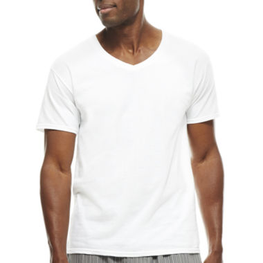 jcpenney.com | Hanes® 3pk. Ultimate X-Temp™ V-Neck T-Shirts - Big & Tall