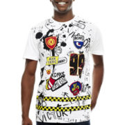 akademiks® Scribble Graphic Tee