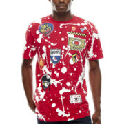 akademiks® Splatter Patch Graphic Tee