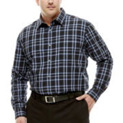 Claiborne® Long-Sleeve Patterned Woven Shirt - Big & Tall