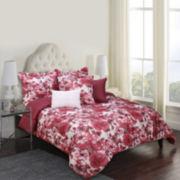 Jessica McClintock Amore Floral 6-pc. Comforter Set