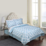 Jessica McClintock Barrett Geometric 8-pc. Complete Bedding Set with Sheets