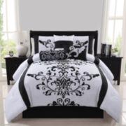 Victoria Classics Camille Damask 7-pc. Comforter Set