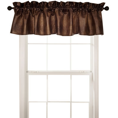HiEnd Accents Austin Faux-Leather Valance