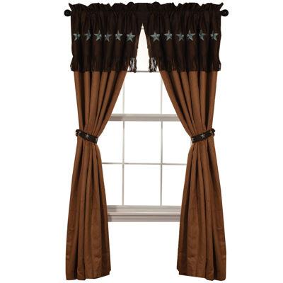HiEnd Accents Laredo Curtain Panel