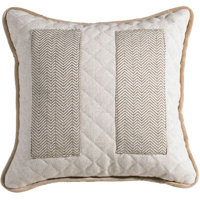 HiEnd Accents Fairfield Square Inset Decorative Pillow