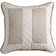 Fairfield Square Inset Decorative Pillow
