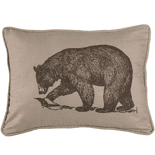 HiEnd Accents Briarcliff Bear Square Decorative Pillow - JCPenney