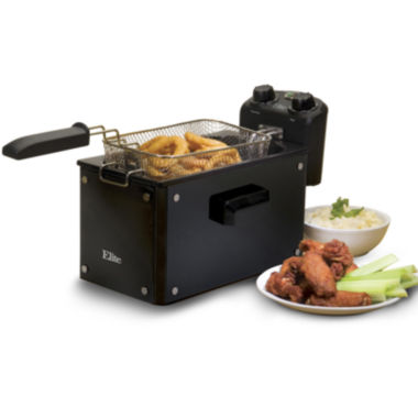 jcpenney.com | Elite Deep Fryer with Glass Exterior
