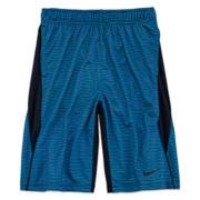 Nike® Legacy Striped Shorts - Boys 8-20