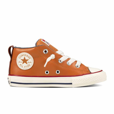 50a20a56992c Converse Chuck Taylor All Star Street Leather And Fleece Mid Boys Sneakers  - Little Kids