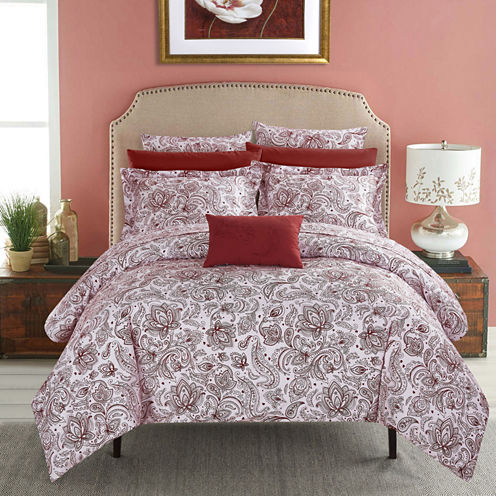 Chic Home Regent's Park 7-Piece Bed In a Bag Duvet Set