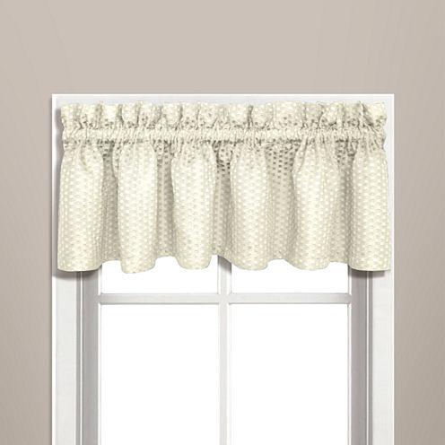 United Curtain Co Hamden Rod-Pocket Valance