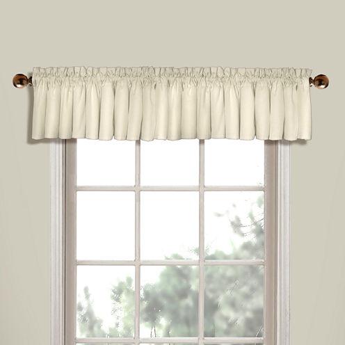 United Curtain Co Westwood Rod-Pocket Valance