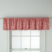 Royal Velvet® Beacon Coral Ridge Scroll Valance