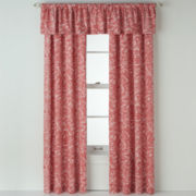 Royal Velvet® Beacon Coral Ridge Scroll Curtain Panel Pair