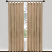 Magic Pleats™ Cottage House Tab-Top Sheer Panel Pair