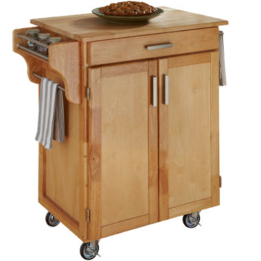 jcpenney.com | Create-Your-Own Small Rolling Kitchen Cart with Towel Rack